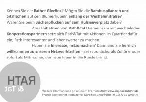 151004_2Einladg-RS Netzwerktreffen Rath Tat KiQ Linneweber Quartier Entwicklung