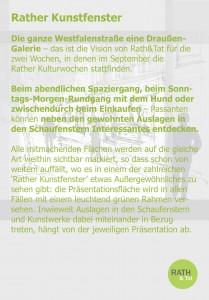 160712_Rather Kunstfenster Einladung Rath Tat KiQ Dorothee Linneweber