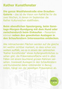160823_Rather Kunstfenster Einladung KiQ Rath Tat Linneweber