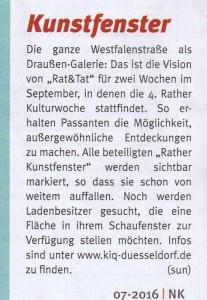 160799_Nordkurier Rather Kunstfenster Rath Tat Quartier Entwicklung Linneweber
