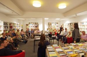 160905 Netzwerktreffen Rath Tat KiQ nebenan de Linneweber Rather Buchzentrum Quartier Nachbarschaft (4)