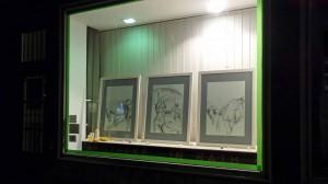 160905_Rather Kunstfenster Rath Tat KiQ WIR Linneweber Quartier nebenan Kunstwoche Westfalenstr Draussen galerie (1)